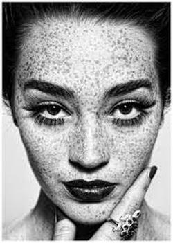 Photographs Are In Black And White Fashion Photography Takes Mostly Portraits This Portrait The Girls Finger Sort Of Frames Her Face