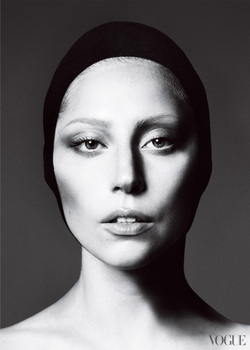 Takes Portraits Shoots Famous People Photos Appear In Big Fashion Magazines This Black And White Portrait Of Lady Gaga There Is Obviously A Lot Use